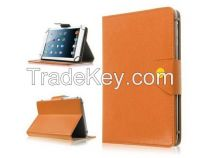 """MID Leather Flip Protect Case Stand 9"""" PC Tablet Leather PU Cover"""