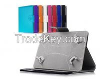 """MID Leather Flip Protect Case Stand 7"""" PC Tablet Leather PU Cover"""