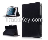 """Leather Flip Protect Case Stand 8"""" PC Tablet Leather PU Cover"""