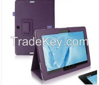 Folio PU Leather Stand Case Cover Stand 10.1 inch Tablet PC