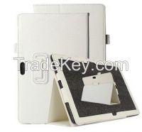 Case Litchi Stria Leather Case Holder Stand Cover