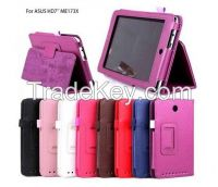 ME173X Soft Protective PU Leather Stand Folio Case Cover Holder