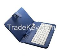 USB Keyboard Case Leather Stand Cover Case for 7 inch MID Tablet PD