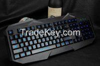 Backlit , Waterproof function Luminous Gaming Keyboard