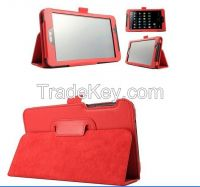 Fashion Solid Color Flip PU Leather Case FE170CG FE7010CG Stand Cover
