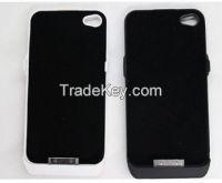 White 2350mAh Ultra Slim External Backup Battery Charger Case Cover