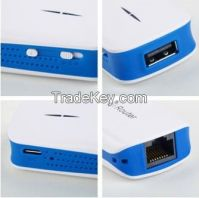 3G Wireless MiFi WiFi USB Broadband Hotspot Router & 1800mAh Charger