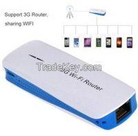 3G Wireless MiFi WiFi USB Broadband Hotspot Router & 1800mAh Charger