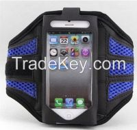 Reticular Mesh Sports Workout Running Armband Holder Pouch Case