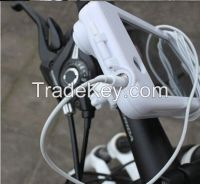 White Bicycle White Waterproof Protector Case Cover Mount Holder