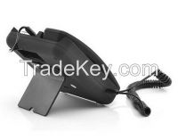 White Classic Retro Phone Telephone Handset Dock Stand