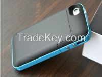 Portable 2000mAh External Battery Charger Backup Power Bank Pack Case