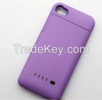 External Backup Battery Charger Case Cover Power Bank 1900mAh