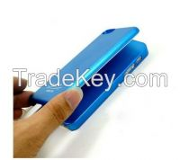 Red 2800mAh Magnetic Power Bank Adsorption Battery Charger Cover Case