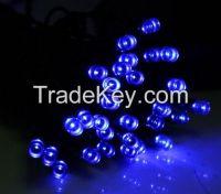 Waterproof Outdoor Solar Powered Blue Light 60 LED