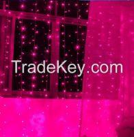 300LED 3M*3M curtain string lights