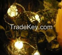 10M 80 LED Bell String Lights Christmas Garden New year Wedding Party