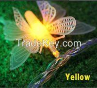 LED String Lights 10M Butterfly 80 LEDs 110V or 220~240V