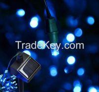 White 60LED Solar LED Fairy Light String