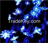 10M 80pcs Lotus Flower LED Light Warm White