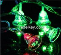 110V or 220~240V 10M 80 LED Lights String Christmas Bell LED Light