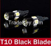 T10 LED W5W Car LED Auto Lamp 12V Light bulbs with Projector Lens