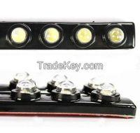 Car DIY 6 LED DRL Driving Daytime Running Light Bar Soft Head Lamp