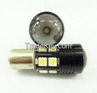 1156/P21W 12w BLACK BLADE 360 DEGREE LIGHTING LED