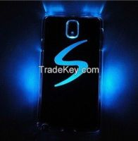 New arrival LED LCD Color Changed Sense Flash Light Case Cover