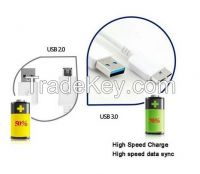 Micro 3.0 USB Power Data Sync Transfer Charger Cord Cable