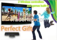 Sports Body motion tv video games console player with 2 wireless co