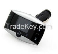 "1.5"" LCD Car Kit MP3 Bluetooth Player FM Transmitter Modulator SD MMC"