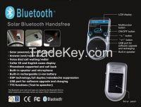 Solar Bluetooth Handsfree Car Kit Speaker