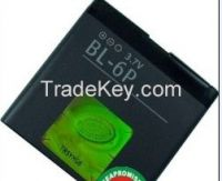 mobile phone battery BL-6P for nokia 7900 6500C 7900Prism...830mAh