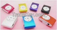 The new card MP3 mp3 /Small clip card without screen/Metal clip