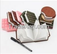 Easy carry Note pad Novelty gift memo block note pad (LH-2557)