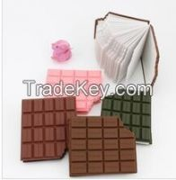 Chocolate smell direct sale from China factory souvenir memo pad(LH-25