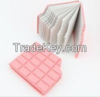 Office fashion item Chocolate smell pink color Unique memo pad(LH-2546