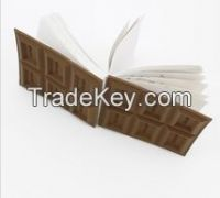 promotional gift Chocolate smell funny memo pad(LH-2545)