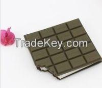 2015 Last design promotional gift Chocolate shape memo pad(LH-2543)