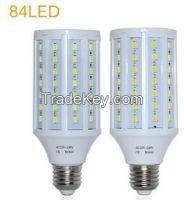 AC 220V 240V 25W E27 84 LED lamps High Lumen 5730 SMD Corn Bulb Pendan