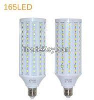 50W LED lamps E27 5730 5630 SMD 165 LEDs Corn LED Bulb Chandelier Cei