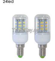 SMD 5730 E14 LED lamp 7W 11W 12W 15W AC 220V Ultra Bright 5730SMD LED