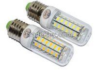 48LEDs SMD 5730 12W E27 LED Corn Bulb AC 220V 240V Ultra Bright 5730SM