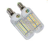 48LEDs SMD 5730 12W E14 LED Corn Bulb AC 220V - 240V Ultra Bright 5730
