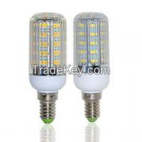 High Bright LED lamps E14 5730 36LEDs AC 220V Corn Bulb 11W