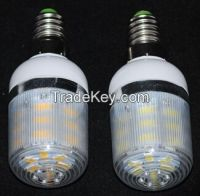 LED lamps AC 220V 240V Wall light E14 7W SMD 5730 24 LEDs Diamond