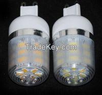 LED lamps G9 7W 5730 24leds Diamond Surface Spotligt Corn LED Bulbs