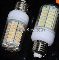 96LEDs E27 18W LED lamp AC 200V - 240V SMD 5050 Crystal Chandelier LED