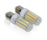 15W LED Corn Bulb lamps Ultra Bright SMD 5050 E27 AC 200V 240V lamp